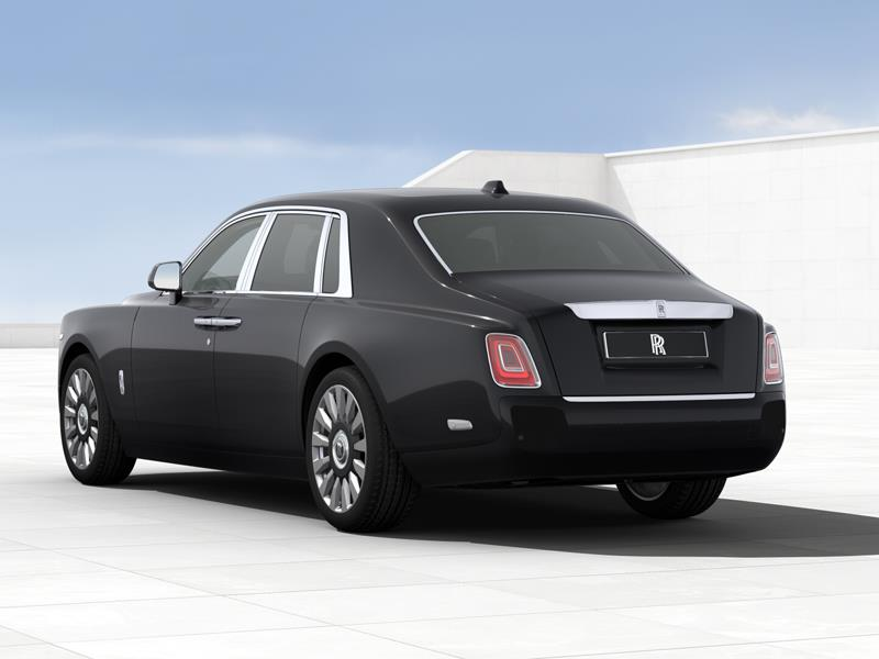 Rolls-Royce Phantom SWB  <br>Diamond Black