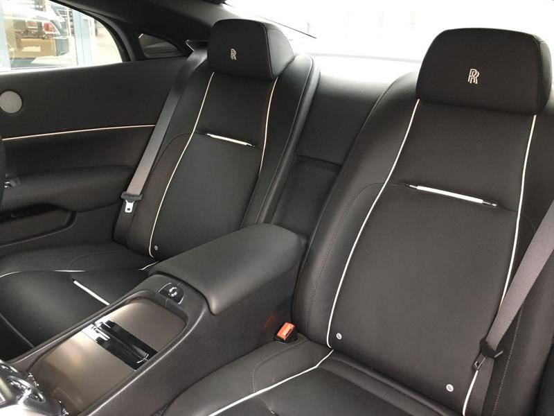 Rolls-Royce Wraith 2015 год <br>Diamond Black / Gunmetal