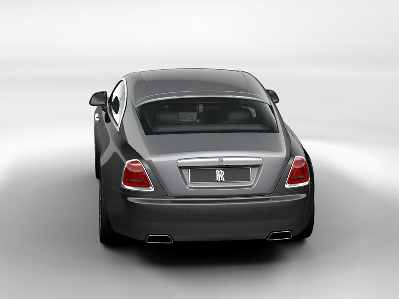 Rolls-Royce Wraith  <br>Anthracite / Jubilee Silver
