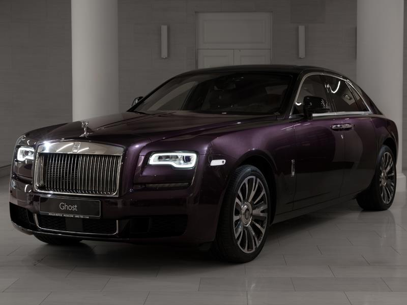Rolls-Royce Ghost SWB  <br>Belladonna Purple