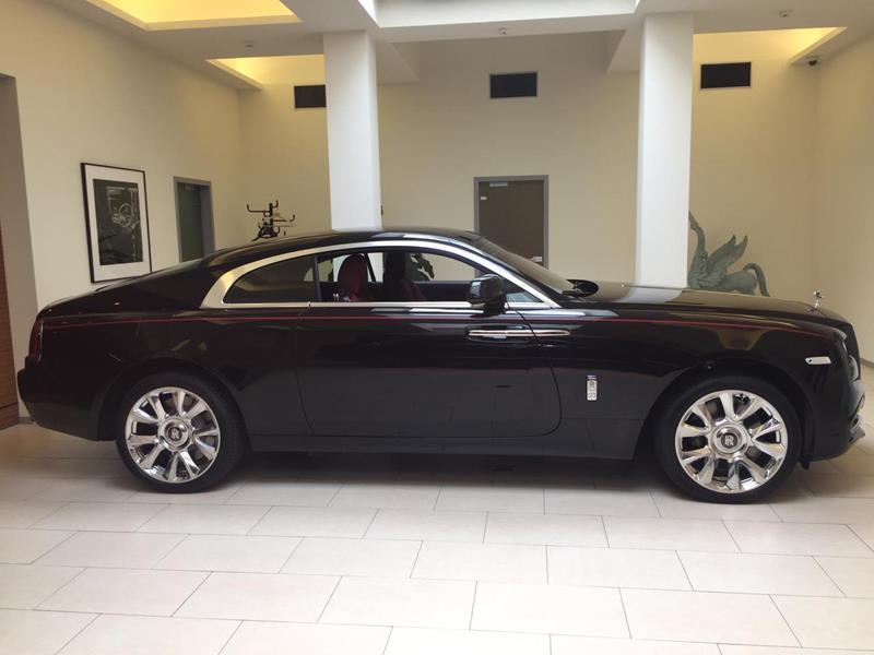 Rolls-Royce Wraith  <br>Black Diamond