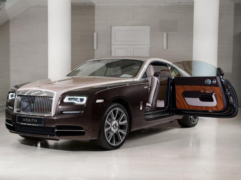 Rolls-Royce Wraith  <br>Smokey Quartz / White Sands