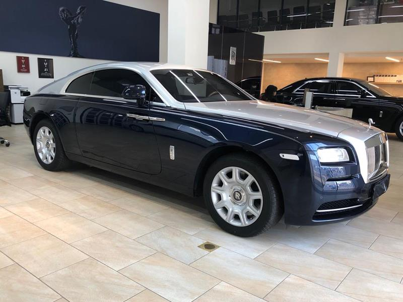 Rolls-Royce Wraith 2014 год <br>Midnight Sapphire / Silver