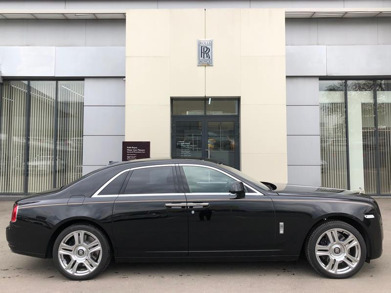 Rolls-Royce Ghost 2014 год <br>Diamond Black
