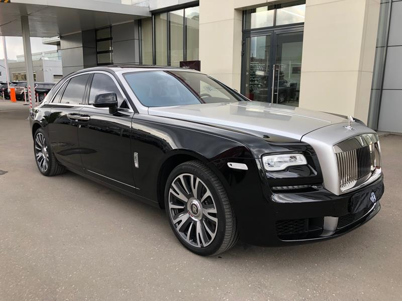 Rolls-Royce Ghost 2017 год <br>Black Diamond