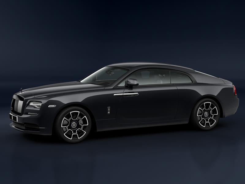Rolls-Royce Wraith Black Badge  <br>Black Diamond