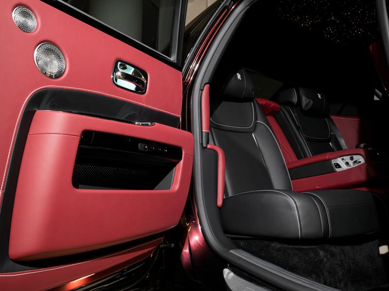 Rolls-Royce Ghost Zenith Collection  <br>Bohemian Red / Diamond Black